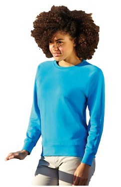 FOTL Lady Fit Lightweight Raglan Sweat