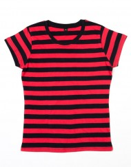 Mantis womens-stripy-t-blackred-l-6e87910bfa0e