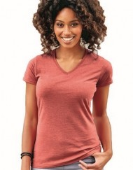 russel hd tee v neck women-001